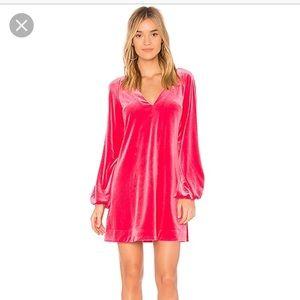 NWT free People misha velvet dress